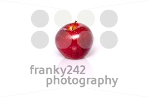 Single red apple - franky242 photography