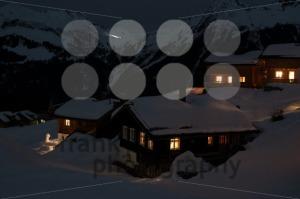 Ski village at night - franky242 photography