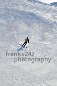 Skier in powder snow - franky242 photography