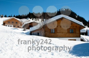 Skiing huts in Montafon - franky242 photography