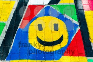 Smiley painting - franky242 photography