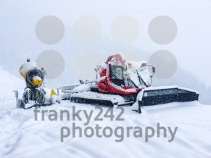 Snow grooming equipment - franky242 photography