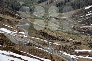 Snowy-mountain-pass