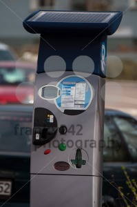 Solar Powered Pay Parking Machine - franky242 photography