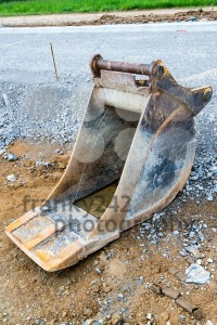 Spare shovel of an excavator - franky242 photography