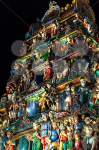 Sri Mariamman Temple Singapore at night - franky242 photography