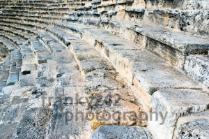Steps of an ancient amphi theatre - franky242 photography