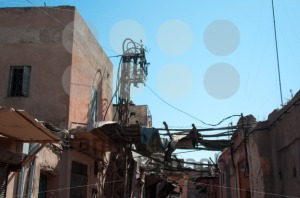 Street Scenery In The Medina Of Marrakech - franky242 photography