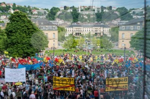 Stuttgart 21 – Demonstration meeting protests against Turkey - franky242 photography