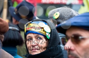 Stuttgart – Jan 29, 2011: Demonstration against S21 plans - franky242 photography