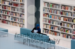 Stuttgart – Studying in the contemporary public library - franky242 photography