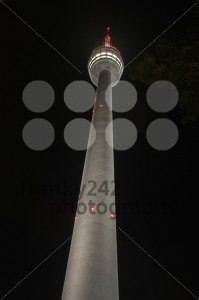 Stuttgart TV Tower at night - franky242 photography
