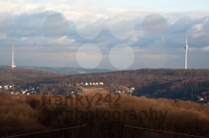 Stuttgart TV and Radio Towers - franky242 photography