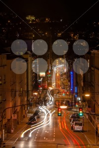 Stuttgart streets at night - franky242 photography