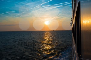 Sunset from a luxury cruise liner - franky242 photography