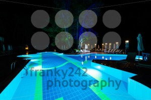 Swimming pool at night - franky242 photography