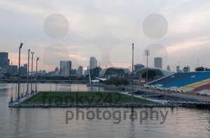 Swimming soccer stadium - franky242 photography