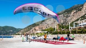 Tandem Paraglider Landing - franky242 photography