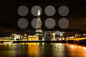 The Shard and London Bridge at Night - franky242 photography