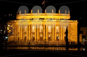 The old opera house in Stuttgart at night - franky242 photography
