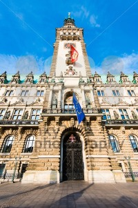 Townhall of Hamburg - franky242 photography