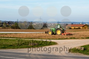 Tractor plowing a field - franky242 photography