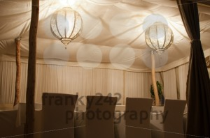 Traditional Riad Tent In Marrakesh At Night - franky242 photography