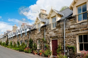 Traditional Scottish Stone Houses - franky242 photography