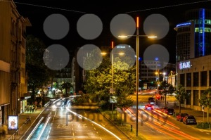 Traffic in Stuttgart at night - franky242 photography
