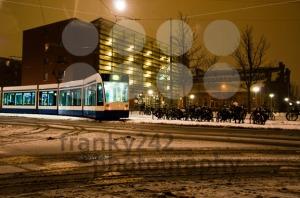 Tram-in-Amsterdam