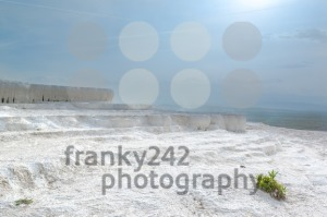 Travertine pools in Pamukkale, Turkey - franky242 photography
