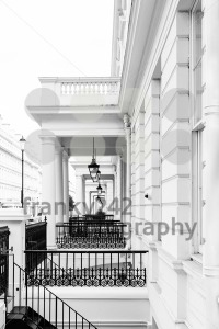 Typical Victorian facades in London - franky242 photography
