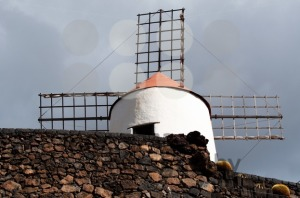 Typical Windmill on Lanzarote - franky242 photography