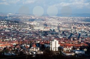 View on Stuttgart from Birkenkopf - franky242 photography