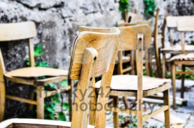 Vintage old school chairs - franky242 photography