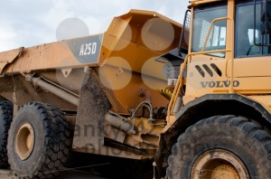 Volvo A25D heavy machinery dump truck - franky242 photography