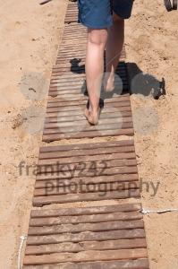 Walking on wooden boardwalk - franky242 photography