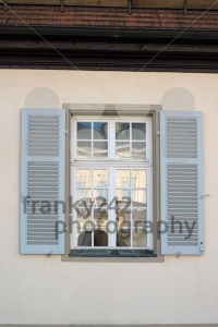 Window opposite Palace of the Solitude in Stuttgart, Germany - franky242 photography