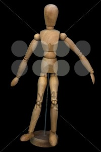 Wooden pose puppet (manikin) - franky242 photography