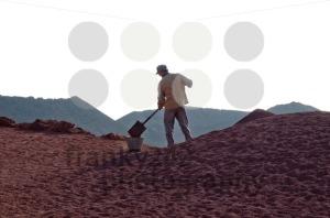 Workman Shoveling Dirt - franky242 photography