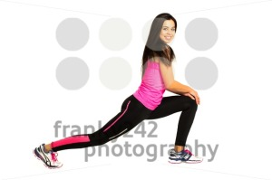 Young woman stretching her legs - franky242 photography