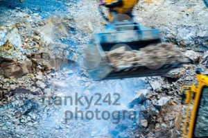 abstract – excavator - franky242 photography