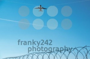 airplane departing - franky242 photography