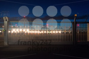airport security at dusk - franky242 photography