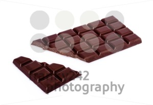 chocolate bar with broken bit - franky242 photography