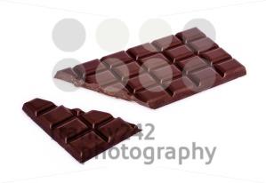 chocolate bar with broken bit - franky242 photography