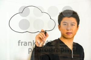 cloud computing – writing on glass - franky242 photography