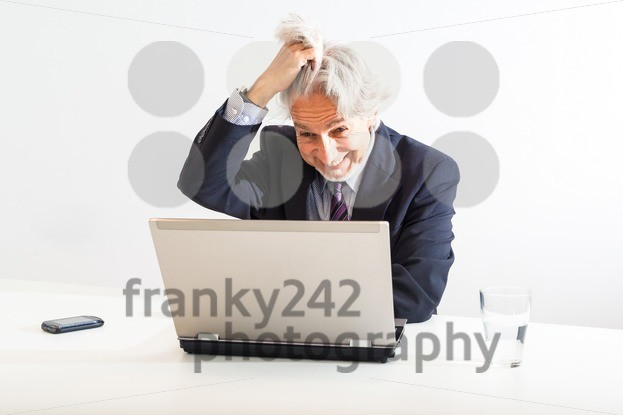 frustrated businessman - franky242 photography