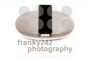iPhone 6 with loudspeaker - franky242 photography