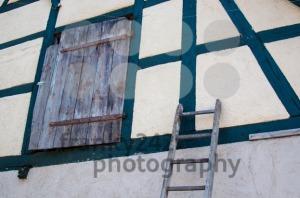 old half-timbered barn - franky242 photography